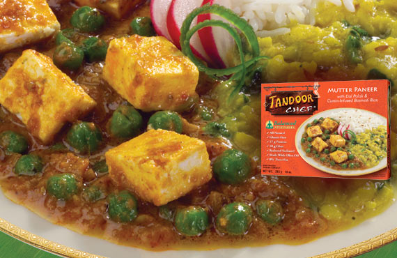 Balanced Vegetarian Mutter Paneer
