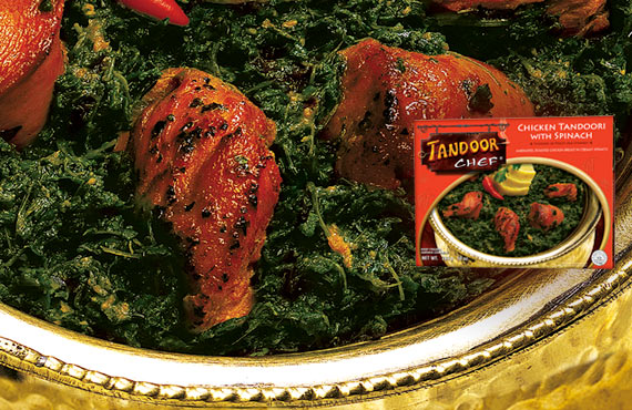 Chicken Tandoori with Spinach